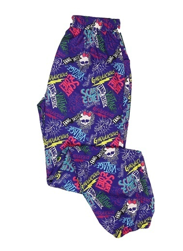 Monster High Pantolon Mor